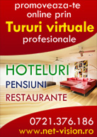 Tur  virtual  restaurant, Tur  virtual  pensiune