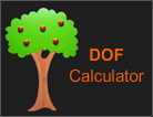 Dof Calculator